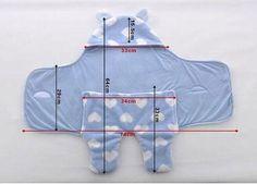 Теплая пеленка-кокон для младенца   Такая модель пеленки для малышей очень удобна, так как позволяет без проблем пристегнуть кроху в автокресле   Чтобы сшить кокон для новорожденных, необходимо подготовить: Показать полностью…