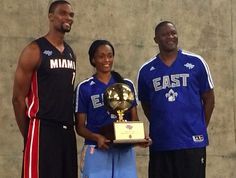 Team Bosh Wins NBA All-Star Shooting Stars Challenge