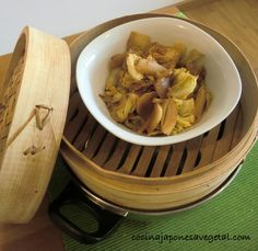 Vaporera: cómo usar Tapas, Chinese Bamboo, Cocina Natural, Different Recipes, Herbalife, Sushi, Garlic, Snack Recipes, Chips