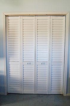 Photos Of Half Louvered Bifold Closet Doors