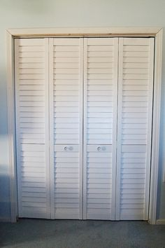 Photos Of Half Louvered Bifold Closet Doors