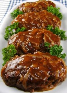 Salisbury Steak with