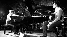 Hamilton de Holanda com o pianista italiano Stefano Bollani em Lacco Ameno - 26 de agosto 2011.