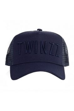 Twinzz - 3D Mesh Trucker - Navy/Navy | Have you seen the latest snapbacks from Twinzz now available @ Urban Celebrity!? The only question is - which to choose? It's a toughie...