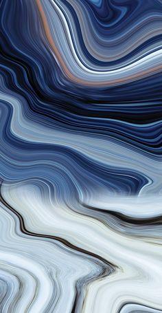 Wavy Earth Canvas Prints