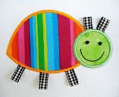 Bug With Ribbons Applique - 2 Sizes! | Spring | Machine Embroidery Designs | SWAKembroidery.com Digitized Creations