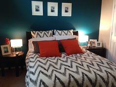 My friends guest room, super cute! @Yoamy Álvarez Jiménez Álvarez Jiménez Peña