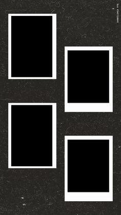 Birthday Captions Instagram, Birthday Post Instagram, Photo Frame Wallpaper, Framed Wallpaper, Polaroid Picture Frame, Polaroid Pictures, Polaroid Template, Instagram Frame Template, Photo Collage Template