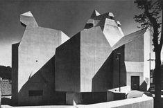 Gottfried Böhm - Pilgrimage Church - Neviges, Germany - 1965