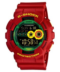 Can't go wrong with a Rasta G-Shock!