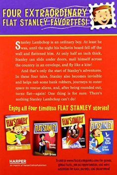 The Flat Stanley Collection Box Set: Flat Stanley, Invisible Stanley, Stanley in Space, and Stanley,