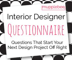 High resolution interior design contract template for Interior design questionnaire