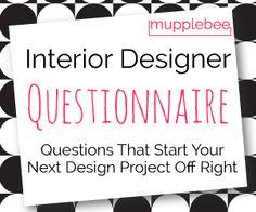 Design Questionnaire Photo Online Interior Design Package My
