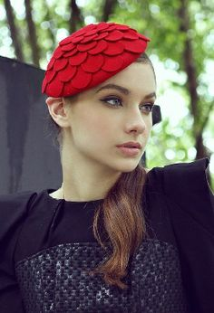 Flower Petals Beret Hat from teoel.com