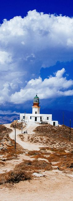 Lighthouse, Mykonos island, Greece. - Selected by www.oiamansion in Santorini.