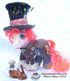 Mad Hatter Custom Little Pony by mayanbutterfly.deviantart.com on @deviantART