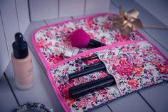 Pochette de maquillage de soirée (tutoriel de couture gratuit)