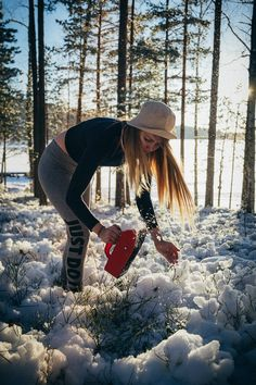 Sixteen-year-old British-Finnish photographer Markus Watkins defies the cold with extreme shots of people enjoying summer in the icy and snowy landscapes.