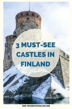 Finland is not really known for it's castles. Today, we are sharing the 3 must-see castles you shouldn't miss when visiting this country. Lappland, Croatia Travel, Thailand Travel, Bangkok Thailand, Travel Europe, Italy Travel, European Travel, Finland Destinations, Holiday Destinations