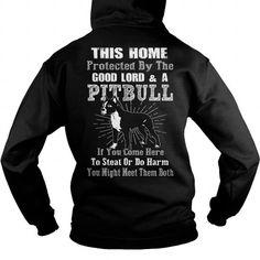 I Love Pitbull  The Protector Shirts & Tees