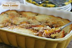 This old fashioned homestyle cobbler is the one I grew-up eating. I can recall thinking that my Momma made the best cobbler ever, and I still think her cobbler is the best. At times she would use fresh peaches as I am in this recipe but, in those seasons when fresh peaches weren't readily available...Read More »
