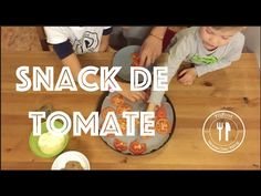 Snack con tomates | Recetas Clean Eating | FitFood