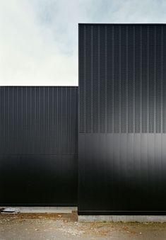 Поиск новостей по запросу #kafedra_архитектура Architecture Building Design, Black Architecture, Installation Architecture, Building Facade, Architecture Details, Contemporary Architecture, Amazing Architecture, Interior Architecture, Metal Facade