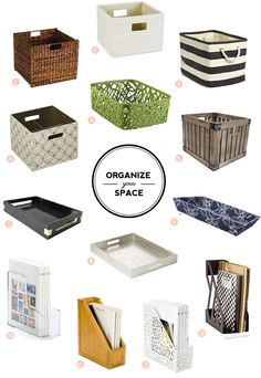 homedecor office Organize your space with these lovely storage options Home Office Organization, Organizing Your Home, Organization Hacks, Office Decor, Organizing Paperwork, Desk Office, Office Storage, Home Office Space, Staying Organized