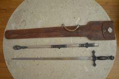Antique Masonic Knights Templar Sword with Sheath M C Lilley Co Ohio | eBay