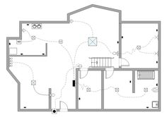Free Site Plan Drawing | The above electrical plan example was drawn with the Edraw Max ...