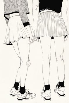 artforadults:  kaethe butcher submitted ——- We Don't Talk About That by Kaethe Butcher