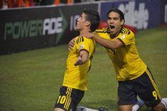 @Colombia Selection: Colombia 1 Ecuador 0: #JamesRodriguez #RadamelFalcao