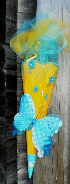 Schultüten Bastelset von Deko-Huette Material auf DaWanda.com
