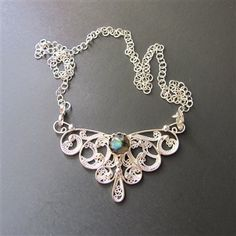 wire filigree jewelry | ... Silver Filigree Butterfly Necklace - Media - Jewelry Making Daily