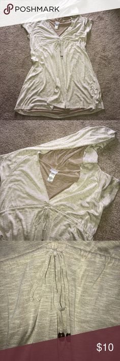 Swimsuit Coverup EUC. Beige. Super soft. Swim Coverups