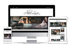 get exclusive premium bold parallax blogger template responsive
