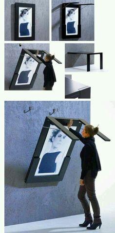 Wall folding table.......