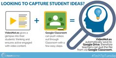 #TechTipTuesday: Check out this #GoogleClassroom & #Video workflow from Avra Robinson  #gafe