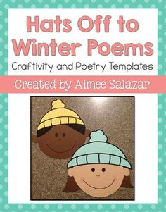 A quick and easy craft FREEBIE with poetry templates...perfect for January!