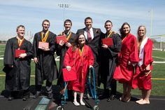 The world's first surviving septuplets have graduated from their Iowa high school | Carlisle, Iowa - The world's first surviving septuplets have graduated from their Iowa high school. Alexis, Brandon, Joel, Kelsey, Kenny, Natalie and Nathan McCaughey all crossed the stage Sunday as part of Carlisle High School's class of 2016. The septuplets were born Nov. 19, 1997, ranging in weight from 2 pounds, 5 ounces to 3 pounds, 4 ounces. | The Canadian Press   May 23, 2016