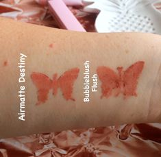 {Review} Swiitch Beauty Airmatte Destiny and BubbleBlush Flush Happy Friday, Print Tattoos, Destiny, Content, Guys, Blog, Pink, Beauty, Blogging