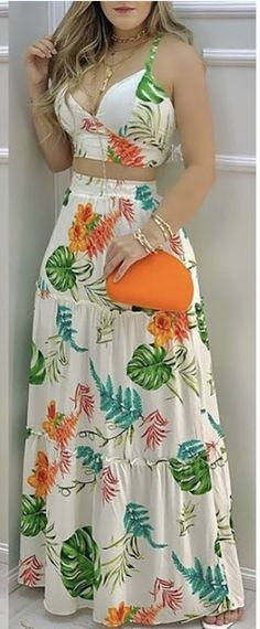 Casual Looks, Summer Outfits, Jumpsuit, Crop Tops, Shorts, Chic, Lady, Womens Fashion, Dresses