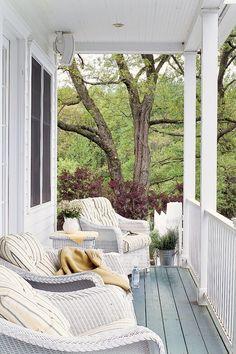 Reading Porch  - CountryLiving.com