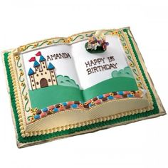 Book-Shaped Cake Pan: Bake a book-shaped cake!
