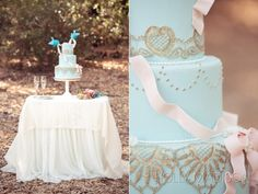Cinderella inspired wedding cake - toooo cute