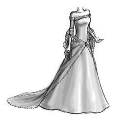 Super Dress Designer Drawing Deviantart 54 Ideas Source by dress drawing Illustration Mode, Fashion Illustration Sketches, Fashion Sketches, Drawing Fashion, Dress Design Drawing, Dress Design Sketches, Dress Designs, Elven Wedding Dress, Wedding Dress Styles