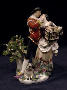 Meissen Manufactory (German, 1710–present). Scaramouche and Columbine embracing, ca. 1741. The Metropolitan Museum of Art, New York. Gift of Irwin Untermyer, 1964 (64.101.102)