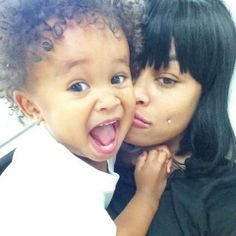 Blac chyna & her son