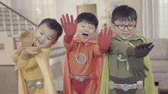 Song triplet Superman Cast, Superman Kids, Song Il Gook, Triplet Babies, Man Se, Song Triplets, Song Daehan, Korean Babies, Kids Boys