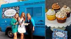 Cynthia Pacheco is not your average trucker, she left her advertising career to start Canada& first mobile cupcake kitchen which boasts over 30 different . Mississauga Restaurants, Cakes For Men, Food Trucks, Catering, Bliss, Cupcakes, Gta, Desserts, Career